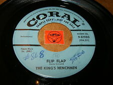 THE KING'S HENCHMEN - FLIP PLAP - SHUFFLIN  / LISTEN - TITTYSHAKER POPCORN
