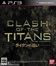 Used PS3 Clash of the Titans SONY PLAYSTATION 3 JAPAN JAPANESE IMPORT