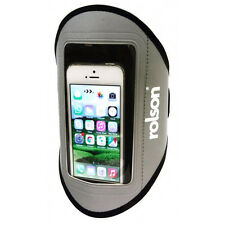 ARMBAND PHONES HOLDER SPORTS RUNNING JOGGING GYM CYCLING CASE POUCH - ROLSON