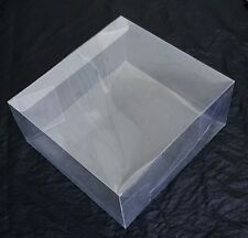 5 x Clear Plastic Presentation Display Boxes Tiara Fascinator Hats 20 x 20 x 9cm