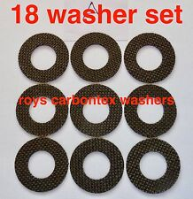 6 sets Roys carbontex drag washers suitable for  shimano ultegra 14000/xtd /xsa