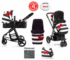 COSATTO GIGGLE 3 IN 1 PUSHCHAIR STROLLER GO LIGHTLY WITH FOOTMUFF AND RAINCOVER