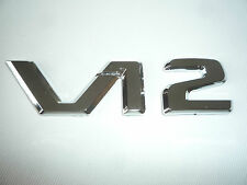 MERCEDES BENZ V12 BADGE CL 65 600 AMG SL65 S600 SLK S600 S65 BI TURBO CUSTOM