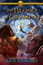 The Heroes of Olympus Book Five The Blood of Olympus Limited Edition POSTER