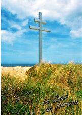 WW2 - CP - La Croix de Lorraine sur les plages du Débarquement