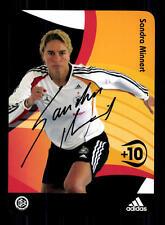 Sandra Minnert DFB Autogrammkarte 2005 Original Signiert+ A 133143