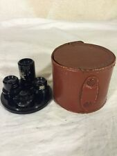 Rare Hard To Find Vintage United Binoculars Chicago 20 Japan 4pc Scope Lens Set