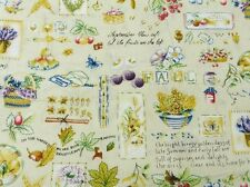 Fat Quarter Country Kitchen Cotton Quilting Fabric  55cm x 50cm
