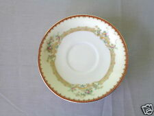 4 ROYAL EMBASSY ADRIAN GOLD TRIM ELEGANT FINE CHINA MADE IN JAPAN SAUCER LOT