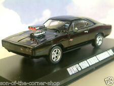 Greenlight 1/43 Dom's 1970 Dodge Charger R/T Nero Fast & Furious Five 5 86228