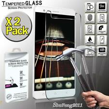 2 Pack Genuine Tempered Glass Film Screen Protector  For Lenovo Vibe K5 Note