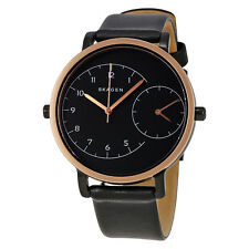 Skagen Hagen Black Dial Ladies Dual Time Watch SKW2475