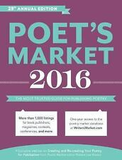 2016 POET'S MARKET book Writer's Digest publishing write how to poetry publish