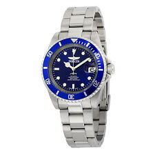 Invicta Pro Diver Blue Dial Stainless Steel Mens Watch 9094OB