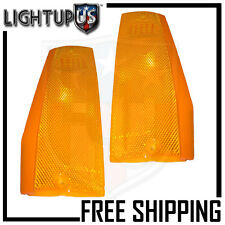 Turn Signal Parking Light Pair for 84-96 Jeep Cherokee 86-92 Comanche