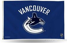 Vancouver Canucks Rico 3x5 Flag w/grommets Outdoor House Banner Hockey