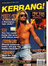 Kerrang! #353 August 10 1991 Motley Crue Crimson Glory Mudhoney Mr Bungle