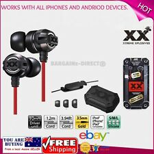 Genuine JVC XX Xtreme Xplosives In-Ear Headphones Earphones HA-FX1X Better Sound