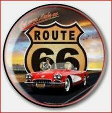 Chapas Pin Route 66 Ansteck Button Pin  Bouton épinglette Lapel Pi