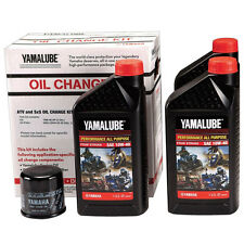 Yamalube OEM Oil Change Kit 2014 2015 2016 2017 Yamaha Viking 700 UTV SxS