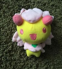 "Tomy Takara 4-5"" CHERRIM Plush Doll Soft Toy POKEMON Pink Yellow Stuffed"