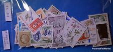 FRANCE - Pochette de 50 timbres oblitérés  Pof37