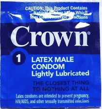 Okamoto Crown Thin Latex Condoms 50ct  Exp: 01-2021