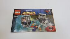 LEGO  !! INSTRUCTIONS ONLY !! FOR 76009 SPIDERMAN BLACK ZERO