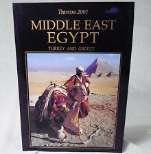 Vtg Travcoa 2001 Travel Book Middle East Egypt Turkey & Greece Softcover