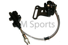 Chinese Dirt Pit Bike Rear Hydraulic Brake Caliper w Cable 110cc 125cc Parts