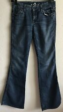 7 Seven For All Mankind women's 26 Lexie A Pocket Petite Flare med classic Jeans