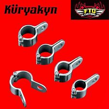 "Kuryakyn Chrome Magnum™ Quick Clamps 1-1/4"""" Engine Guards 1000"