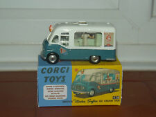 corgi 428 Vintage Model Ice Cream Van Corgi Karrier restored and boxed