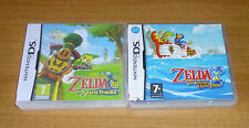 2 jeux nintendo DS - The legend of ZELDA Spirit tracks + Phantom hourglass / 3DS