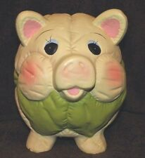 BEAUTIFUL SIGNED E B # 999 COMFORTER INSPIRED PIGGY BANK EXQUISITELY DETAILED