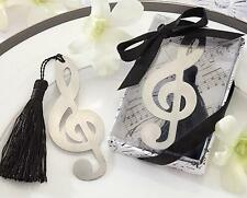 ICA NEW Music Note Alloy Bookmark Novelty Ducument Book Marker Label Stationery
