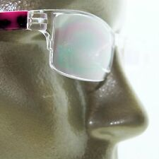 Reading Glasses Frameless Cool Extreme Print Crazy Pink Side Arm +2.00 Power