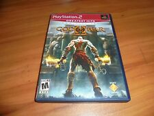 God of War II (Sony PlayStation 2, 2-Disc 2007) Used Complete PS2 GH