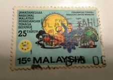 Willie: Malaysia Energy Power stamps