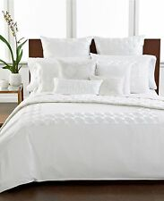 Hotel Collection Finest Bedding Embroidered Frame FULL/QUEEN Duvet Cover T100