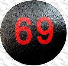 69 SIXTY NINE BIG LICK CLUB ROUTE BIKER MOTORCYCLE LEATHER JACKET VEST PATCH