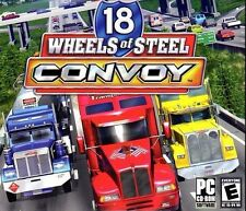 18 Wheels Of Steel Convoy PC Games Windows 10 8 7 Vista XP Computer truck sim