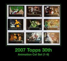 9 Star Wars Topps 30th Anniversary Animation Cel Card Set Holiday Special Clone