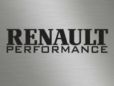 Renault Performance Car Vinyl Decals Stickers Van Window Clio Megane Truck Sport