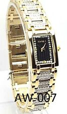 Elgin Ladies Gold-tone, Black-dial Dress  Watch, EG 061