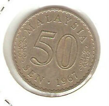 Offer Malaysia Parliament 50sen  coin 1967   High Grade  very nice!