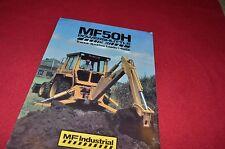 Massey Ferguson 50H 4WD Backhoe Loader Dealer's Brochure LCOH