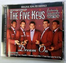 THE FIVE KEYS CD The Very Best Of Feat. RUDY WEST KING Recordings DOO WOP cdx38