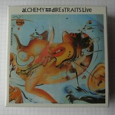 DIRE STRAITS - ALCHEMY DRAWER JAPAN PROMO BIG BOX für JAPAN MINI LP CDs NEU!
