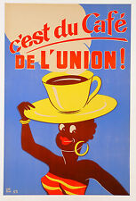 vintage print poster retro australian  coffee advertising quality wall decor